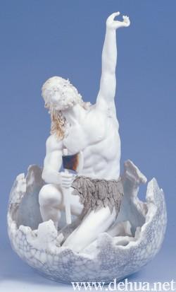 3,《八仙过海》,创作于1998年,荣获首届中国国家级工艺美术大师精品展