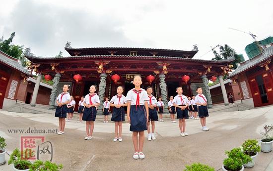 浔中中心艺术:放飞传统文化弘扬小学小学-维则梦想德化图片