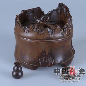 TYC003-32-竹韵熏香炉-12x11cm-660