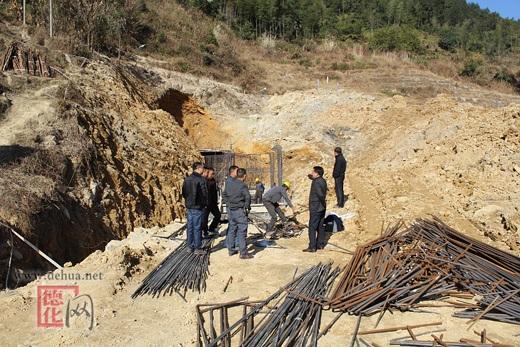 蒲坂高位水厂引水隧洞建设有序推进
