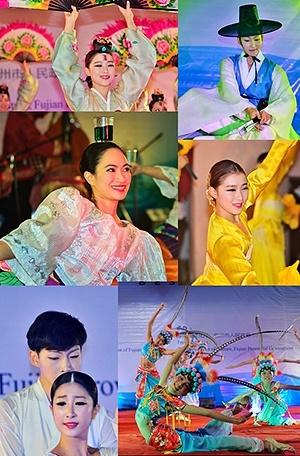 异域风情惹人醉 韩国、菲律宾艺术家献艺瓷城