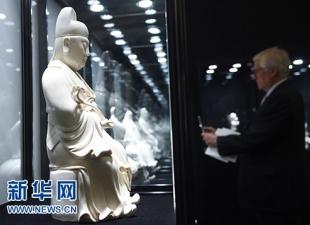 新华社:中国德化陶瓷艺术展在京举行