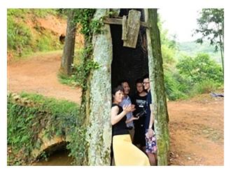上涌镇传豪村有棵树 树洞可容6人藏身
