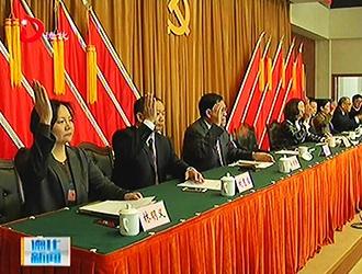 县委召开十三届二次全体会议[视]