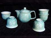 结晶釉—绿茶具