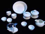 高白瓷茶具
