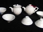 结晶釉—白普洱茶具