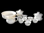 中国白茶具