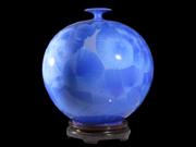 天地方圆(蓝釉)
