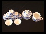 兰彩太阳花茶具
