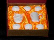 珠白瓷-茶具(鱼)
