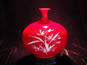 珠红瓷-兰韵