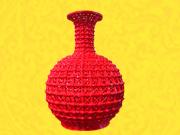 大平口镂空瓶