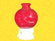龙幡纹盖瓶