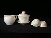 白色结晶釉茶具