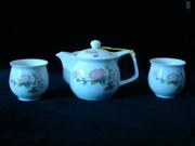 菊花三用壶茶具
