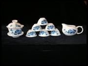 牡丹盖碗茶具
