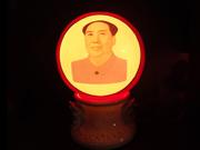 珠红瓷-印象灯瓶