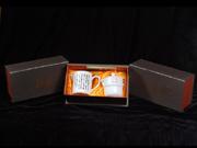 珠白瓷-陆羽自动冲个人茶杯