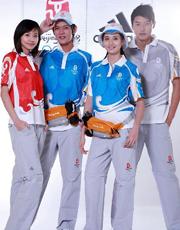 北京奥运会制服太好看了