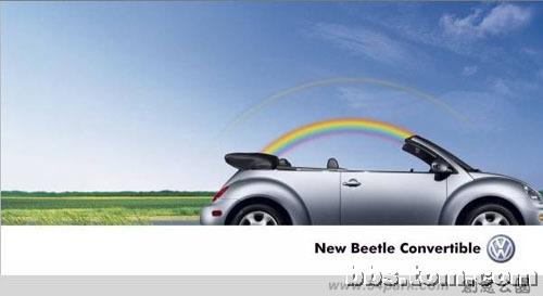 甲壳虫广告创意无处不在