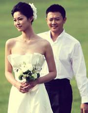 于娜印小天最新婚纱写真