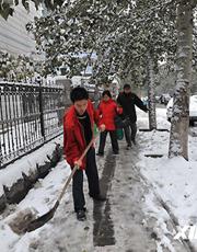 北京再次迎来降雪