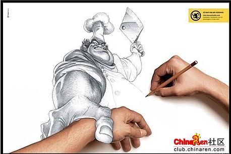 超强的铅笔画