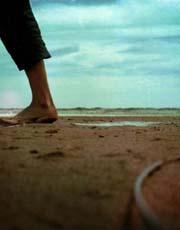 那片海 还有脚印