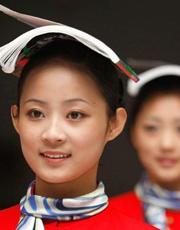 北京空姐的礼仪训练