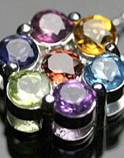 Dior七彩宝石项链 可以避邪转运