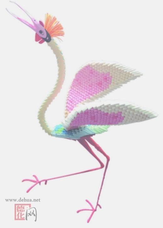 —一只千纸鹤,