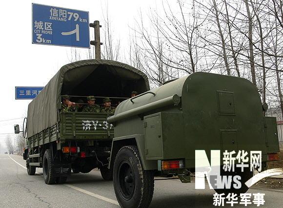 要求该部队迅速赶往河南省驻马店市泌阳县赊湾乡协助当地抗旱保苗