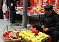 卖菠萝的老汉